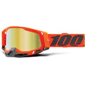 100% Racecraft Anti-Fog Goggles Gen2, naranja